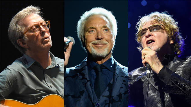 Eric Clapton, Tom Jones and Mick Hucknall will perform at the special charity event next year