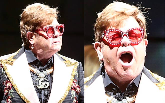 Sir Elton John swears at concert security in explosive rant as fan is 'manhandled'