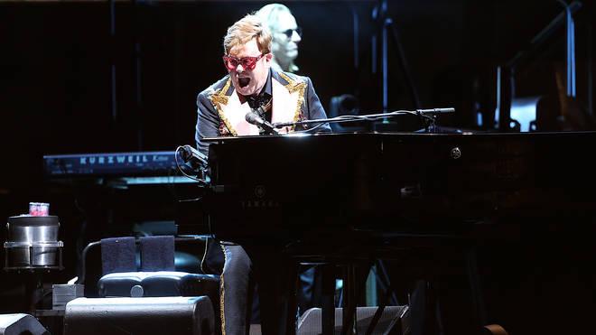 Sir Elton John swears at concert security in explosive rant