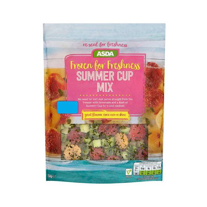 Asda's new Frozen for Freshness Summer Cup Mix