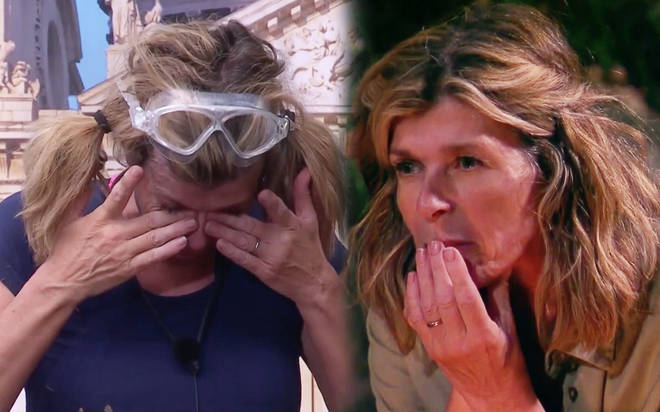 Kate Garraway in tears after emotional letter from home in I'm A Celebrity 2019