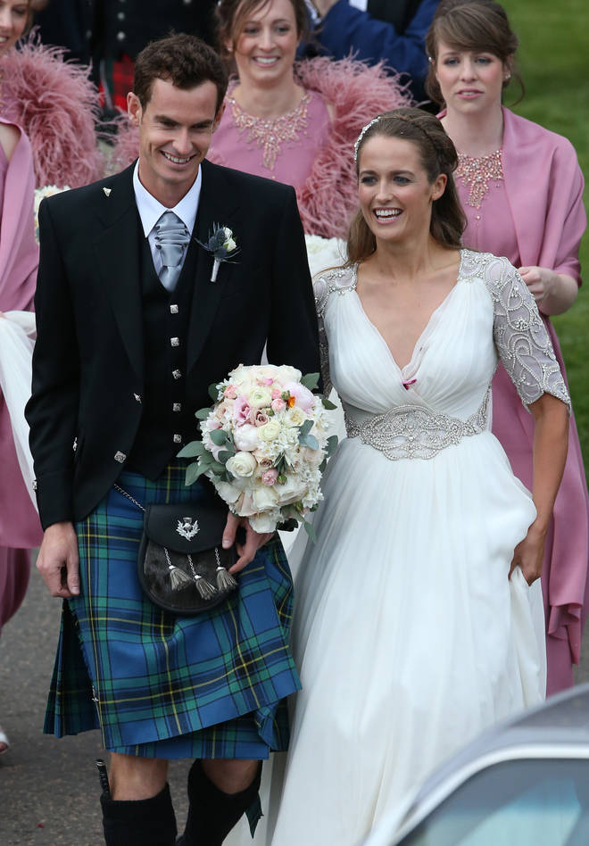 Andy Murray and Kim Sears wedding in 2015