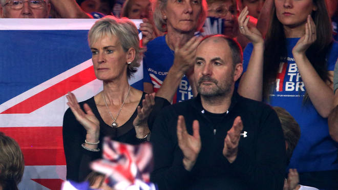Andy Murray's parents Judy and William Murray