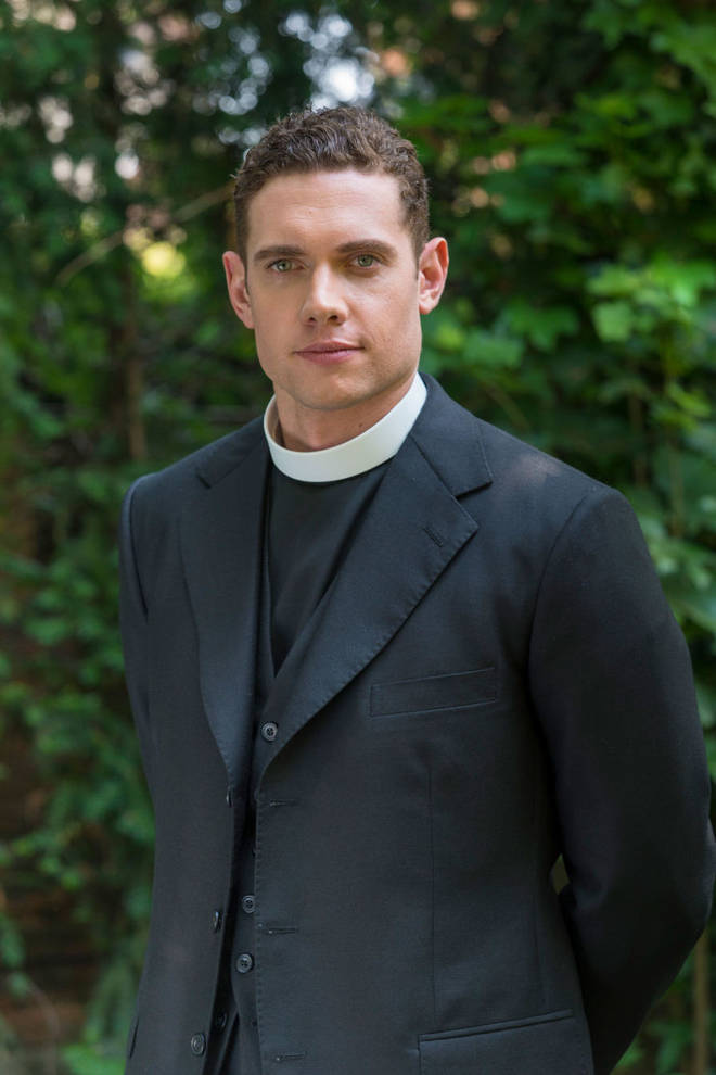 Tom Brittney in Grantchester