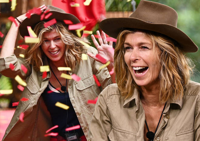 Kate Garraway leaving the I'm A Celebrity jungle after 22 days