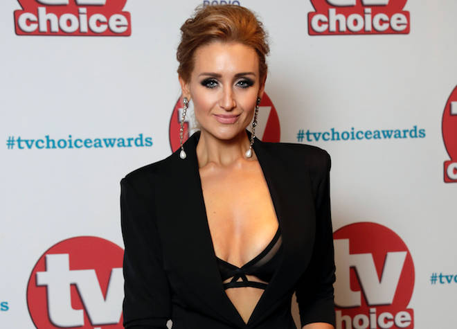 Catherine Tyldesley at the TV Choice Awards