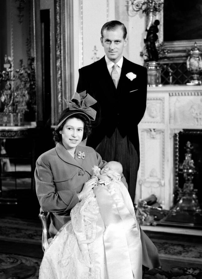 Prince Charles christening