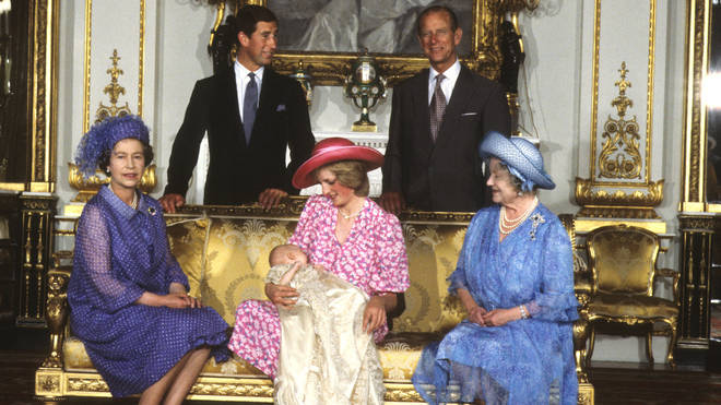 Prince William christening