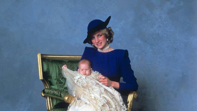 Prince Harry christening
