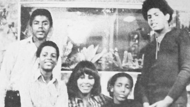 Tina Turner and family