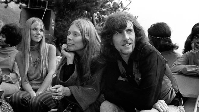 Joni Mitchell and Graham Nash in 1969