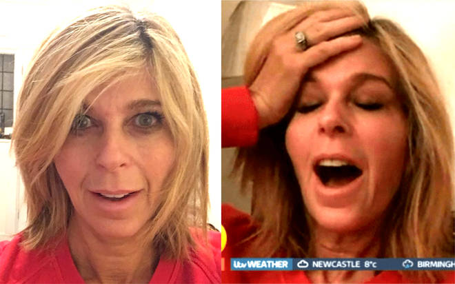 Kate Garraway oversleeps and misses first day back at GMB