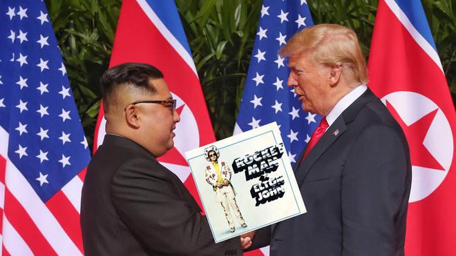 Trump / Kim / Elton