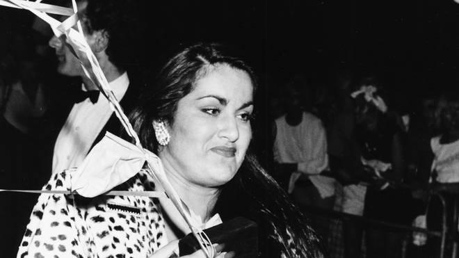 George Michael's sister Melanie in 1986