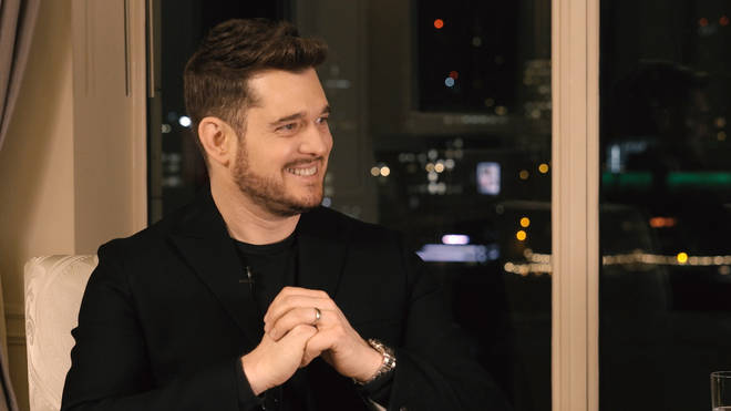 Michael Bublé speaking to Smooth Radio