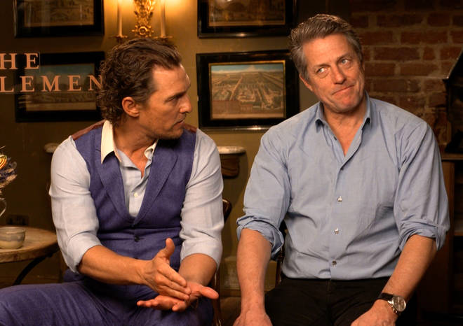 Hugh Grant shocks Matthew McConaughey by revealing he hates filming movies: 'It's awful!'