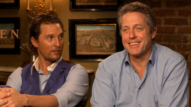 Hugh Grant revealed he did enjoy watching back The Gentlemen once filming was over