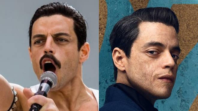 Rami Malek as Freddie Mercury and Bond villain Safin