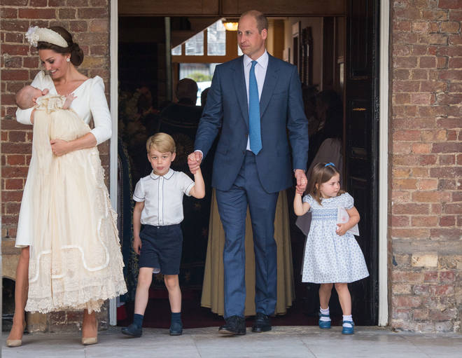 William, Kate, Charlotte, George and Louis