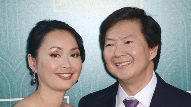 Ken Jeong and his wife Tran
