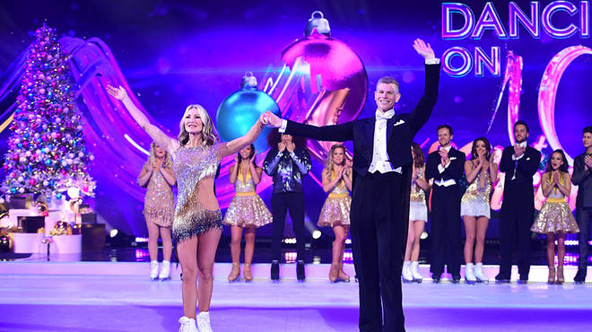 Hamish Gaman is partnered with Caprice Bourret for Dancing On Ice 2020