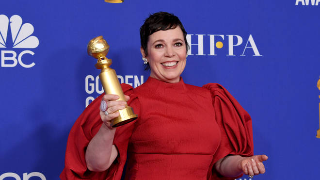 Olivia Colman won for playing The Queen in The Crown