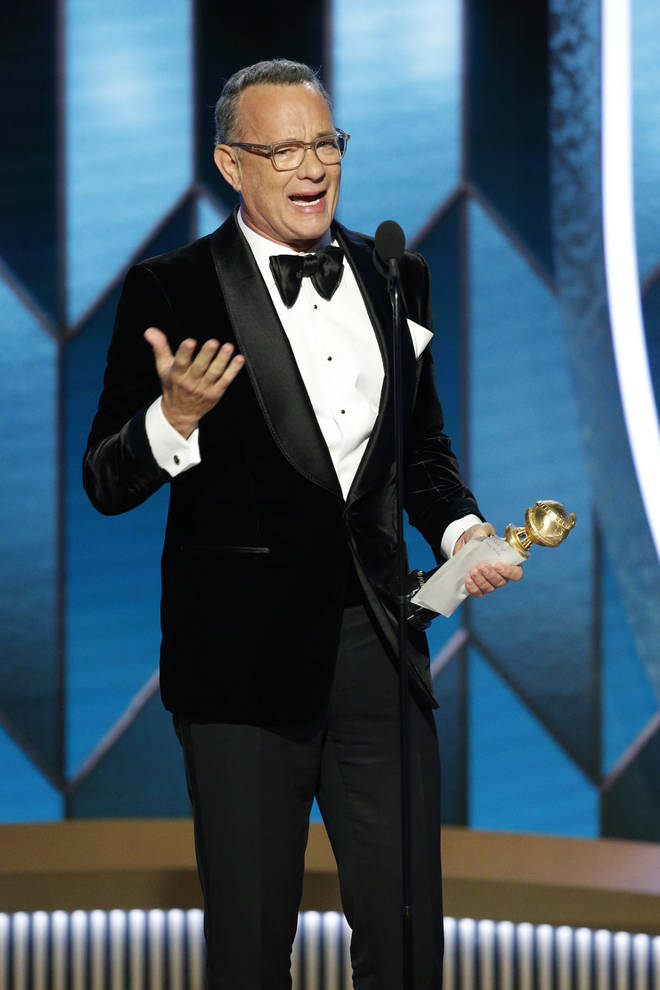 The Golden Globes 2020: Tom Hanks gives his acceptance speech