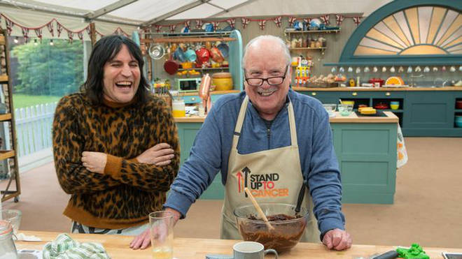 Richard Dreyfuss and Noel Fielding