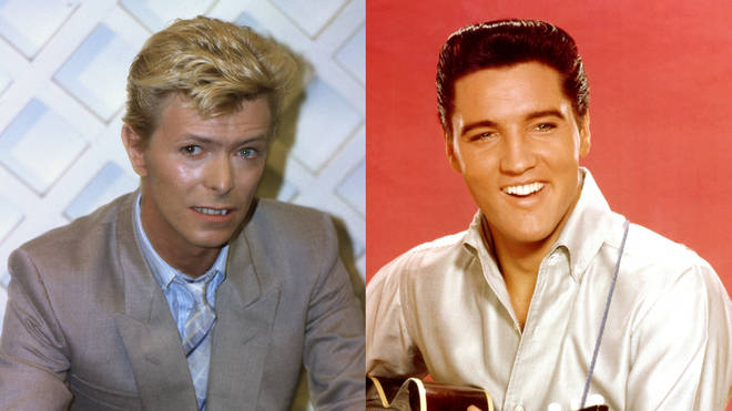 Elvis Presley wanted David Bowie to produce his album