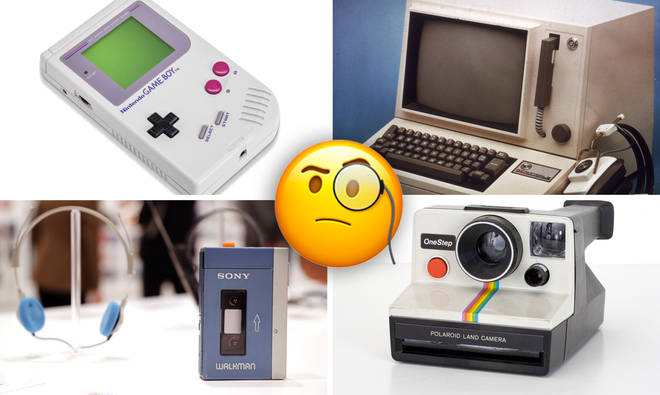 Can we guess how old you are from the tech you used growing up?