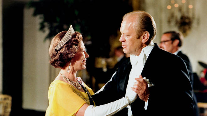 The Queen and Gerald Ford
