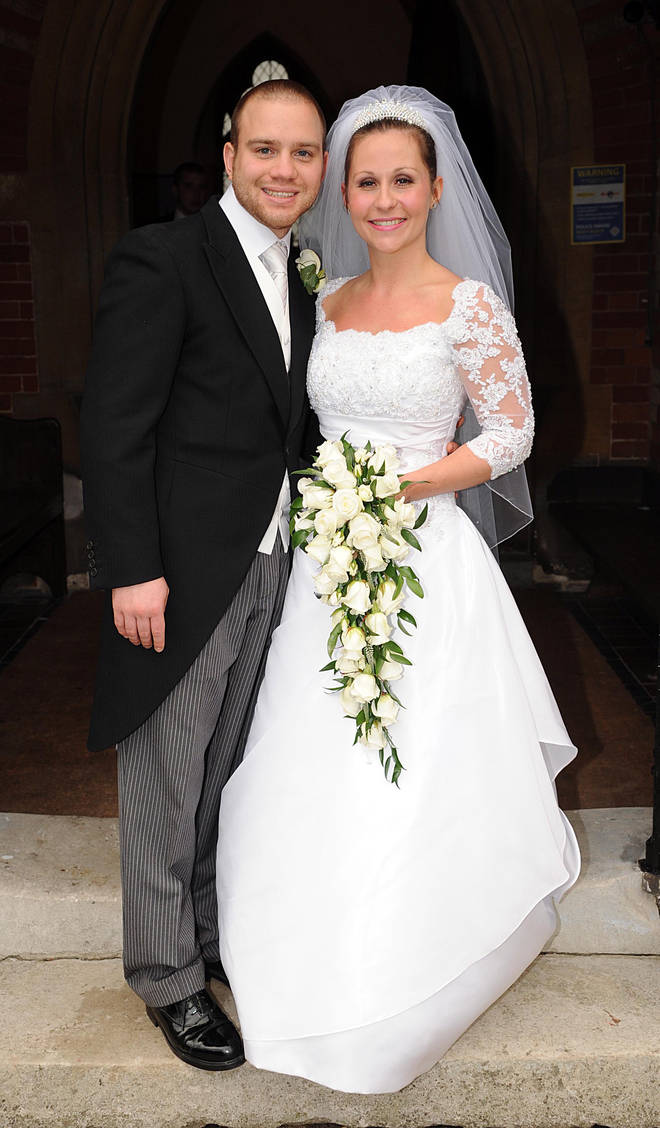 Olly's brother Ben getting married in 2009