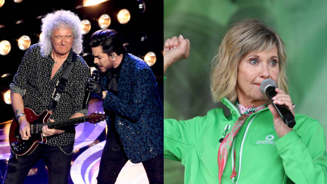 Queen and Olivia Newton John will perform at the charity concert in Australia