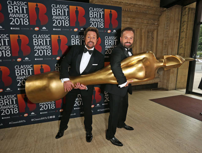 Michael Ball with Alfie Boe