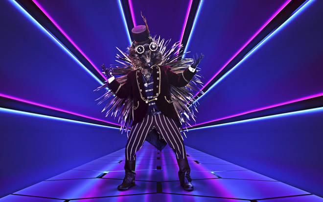 Is Alfie Boe performing as Hedgehog on The Masked Singer?