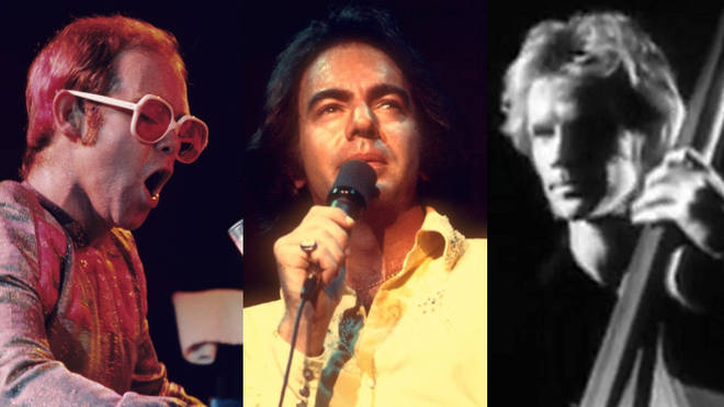 Elton John, Neil Diamond and The Police have been inducted into the Grammy Hall of Fame