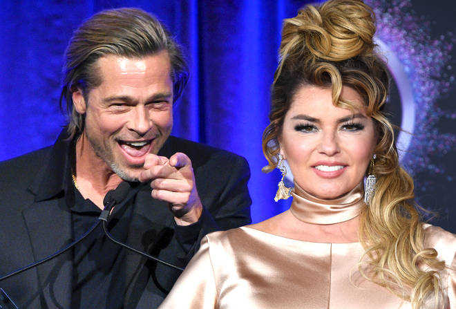 Has Brad Pitt finally impressed Shania Twain after 1998 song 'That Don't Impress Me Much'?