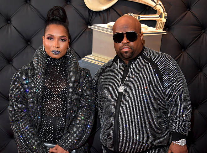 CeeLo Green and fiancé Shani James