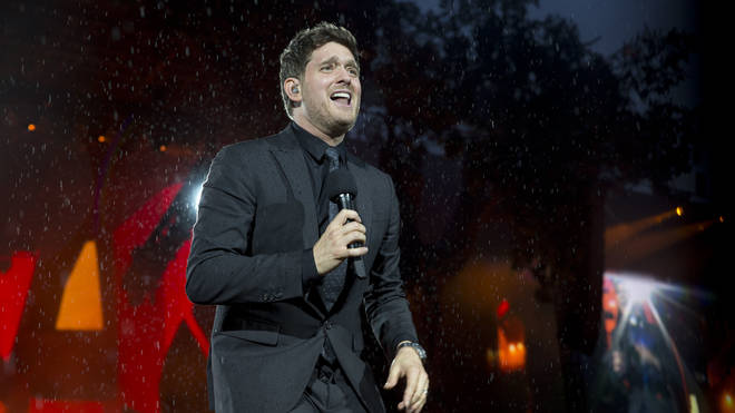 Michael Buble at British Summer Time