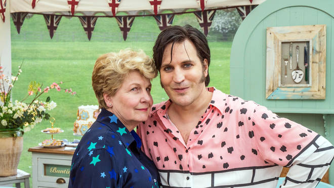 Sandi Toksvig and Noel Fielding joined Bake Off when it moved to Channel 4