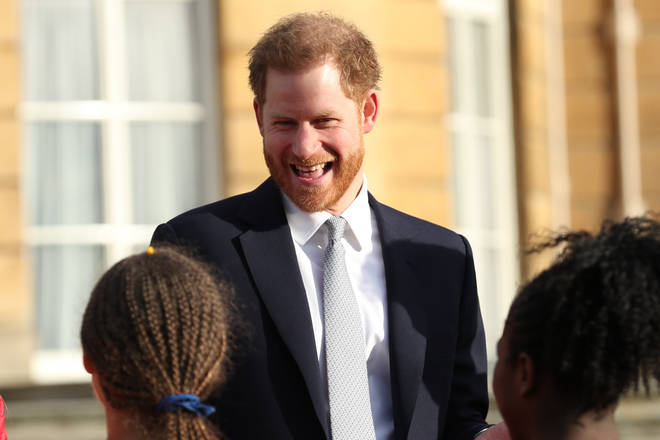 Prince Harry on his first royal engagement since his meeting with the Queen