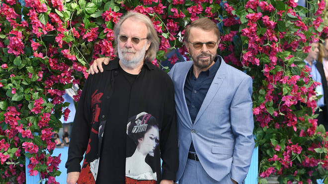 Benny Andersson and Bjorn Ulvaeus