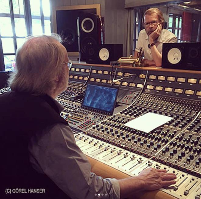 ABBA recording session