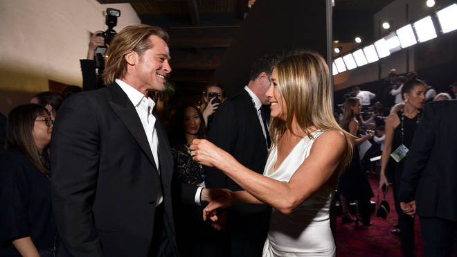 Brad Pitt and Jennifer Aniston together at the SAG Awards