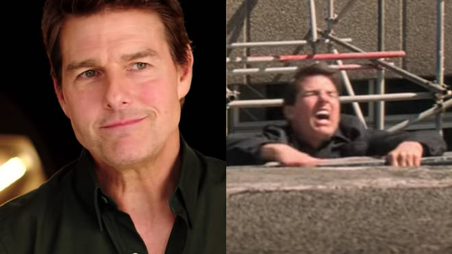 Tom Cruise foot break