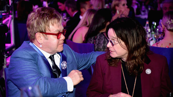 Elton John and Ozzy Osbourne have recorded a song together