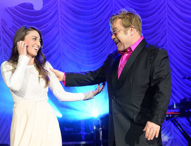 Sara Bareilles reflects on duet with Sir Elton John ahead of Waitress West End debut