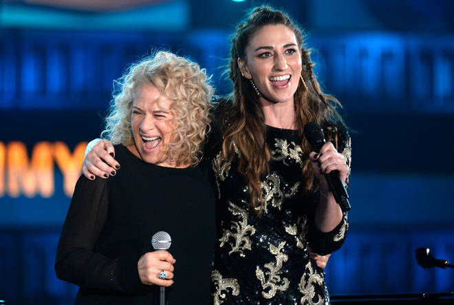 Carole King and Sara Bareilles