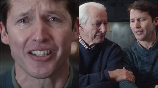 James Blunt in the 'Monsters' video