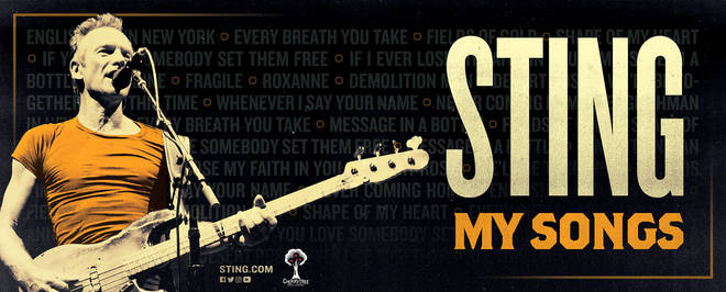 Sting announces London Palladium shows for UK theatre tour of 'My Songs'